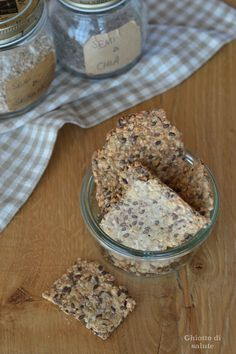 Crackers energetici low-carb