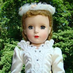Madame Alexander Margaret Bride Doll Hard Plastic 1950s 17 Inch Strung by AmericanBeautyDolls on Etsy