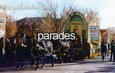 I love parades!