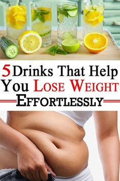 Drinks that help you lose weight