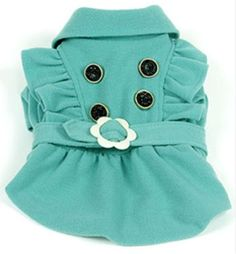 Fashion Dog Skirt for Pet Clothes Stylish Dog Shirt Pet Dress,Green,X-Small - http://www.thepuppy.org/fashion-dog-skirt-for-pet-clothes-stylish-dog-shirt-pet-dressgreenx-small/