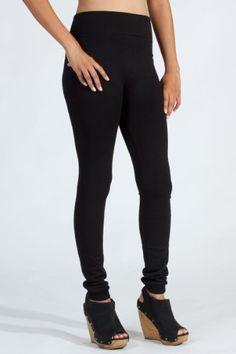 Warm Winter Fleece Lined Leggings (Black,Charcoal) « Clothing Impulse