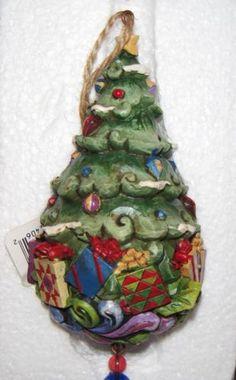 Jim Shore Christmas Tree Ornament Ebay Jim Shore Christmas Christmas Is Coming Christmas