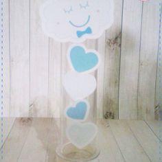 Anna Design - Tubete chuva de amor & bênção menino 01 - em scrap