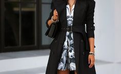 Wild for Violet Dress Outfits, Dress Up, Viva Luxury, Fashion Details, Casual, Nice Dresses, Ideias Fashion, Trench, Autumn Fashion