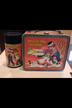 old lunch box. I had one of these!!