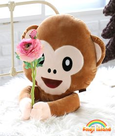 Who are you proposing to? Monkey emoji pillow <3