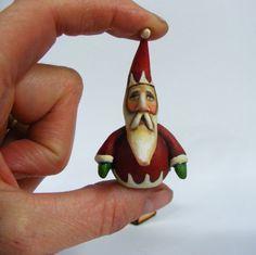 Scherer Santa Miniature
