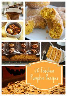 20 Great Pumpkin Recipes For Fall tipsaholic.com #pumpkin #recipes #fall