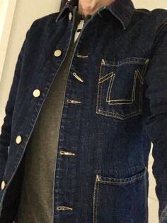 Denim Button Up, Button Up Shirts, Jeans, Tops, Fashion, Men Styles, Moda, Fashion Styles, Chemises