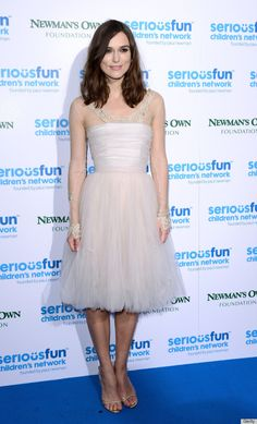 Keira Knightley wearing her wedding dress for the third time. Everyone should wear their wedding dress more than once!
