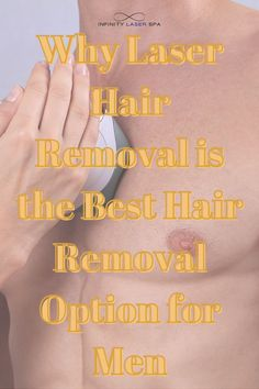 Why Laser Hair Removal Is The Best Hair Removal Option For Men | Infinity Laser Spa NYC Best Hair Removal Products, Top Skin Care Products, Skin Care Tips, Infinity Laser Spa, Hair Facts, Hair Growth Cycle, Beauty Spa, Laser Hair Removal, Glowing Skin