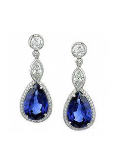 http://rubies.work/0593-emerald-rings/ Something Blue: blue sapphire earrings