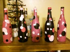 wine bottle centerpieces bravo