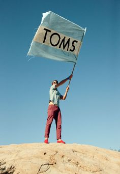 TOMS' shoe eyewear giving give. One for One Movement: in 2006, American traveler Blake Mycoskie befriended children in Argentina and found they had no shoes to protect their feet. Wanting to help, he created TOMS Shoes, a company that would match every pair of shoes purchased with a pair of new shoes given to a child in need. One for One. Blake returned to Argentina with a group of family, friends and staff later that year with 10,000 pairs of shoes made possible by TOMS customers.