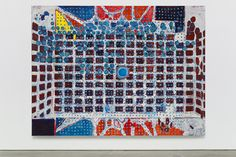 Matthew Marks exhibits works by Terry Winters. Terry Winters, centerspace, 2016.