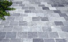 Vietnamees Blauw getrommelde natuursteen tegels voor oprit en terras| Marshalls