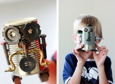 Can Robots - Crafts for Kids