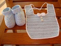 bavaglino neonato uncinetto - Cerca con Google