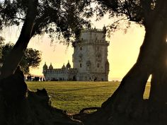 """""""Like many of my adventures, the one in Lisboa came unexpectedly.""""   This post talks about how I spent three days in Lisboa, and includes numerous pictures of, among other things, the Torre de Belem at sunset."""