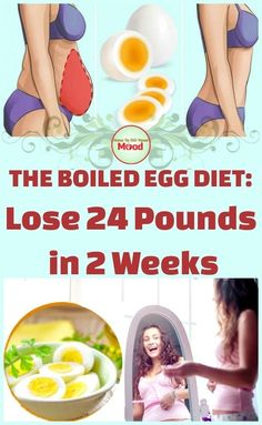 The Boiled Egg Diet Lose 24 Pounds in 2 Weeks