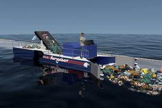 Un aspirateur à déchets pour nettoyer les mers