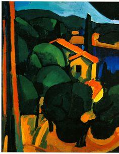 Andre Derain Landscape at Cassis