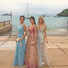 vestido madrinha casamento na praia ou diurno