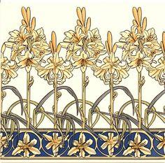 Historic Tiles - Mucha - Mucha Lily..