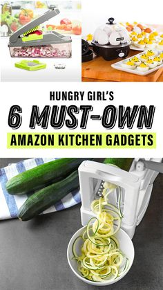 Must-have kitchen tools! These will make meal prep and healthy cooking so much EASIER. Check 'em out, and stock up ASAP! Small Kitchen Organization, Kitchen Hacks, Kitchen Tools, Kitchen Gadgets, Kitchen Ideas, Kitchen Stuff, Kitchen Decor, Modern Placemats, Hungry Girl Recipes