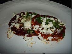 Enchiladas Sonorenses.