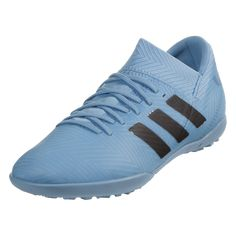new arrival f91a6 248cf adidas Messi Nemeziz Tango 18.3 TF Junior Soccer Shoes - Ash Blue Core  Black Raw Grey