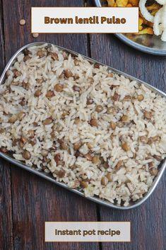 Best Instant Pot Recipe, Instant Pot Dinner Recipes, Lunch Box Recipes, Best Indian Recipes, Amazing Recipes, Vegetarian Platter, Vegetarian Food, Modern Food, Indian Kitchen