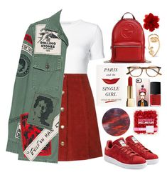 Designer Clothes, Shoes & Bags for Women Teen Fashion Outfits, Korean Outfits, Retro Outfits, Cute Casual Outfits, Kpop Fashion Outfits, Stylish Outfits, Looks Style, Everyday Outfits, Polyvore Outfits