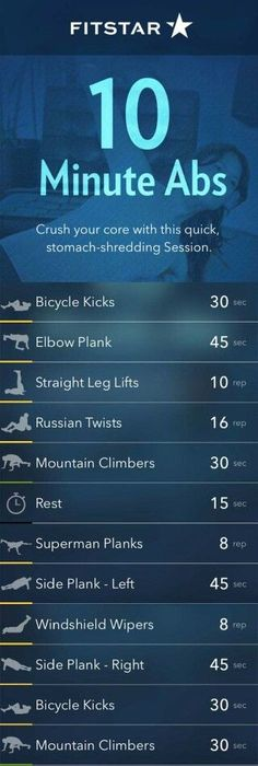 Freestyle Friday: This 10-Minute Ab Workout Will Rock Your Core!