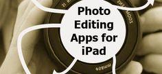 Photo Editing Apps For iPad: iPad/iPhone Apps AppList