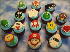 Nintendo Mario Cupcakes