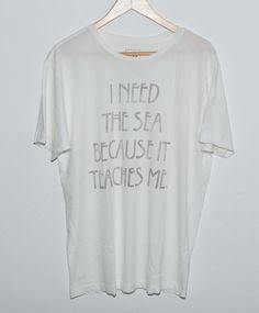 I Need The Sea Surf Tee. I need this.
