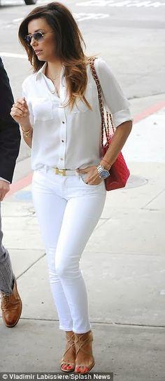 Kendall Jenner. Zoe Saldana. Eva Longoria.