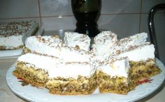 Retete Culinare - Prajitura cu nuca si crema de oua Tiramisu, Sweet Tooth, Cheesecake, Food And Drink, Ice Cream, Sweets, Baking, Healthy, Ethnic Recipes