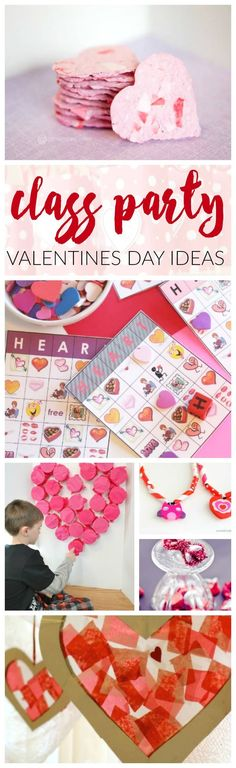 Class Party Ideas for Valentine's Day! How to throw a great party for your kids and their friends!