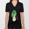 Mens Fitted Tee in 2X-Large in the Tri-Black color.  Eat More Bok Choy T-shirt by DebraStudio - $22.00