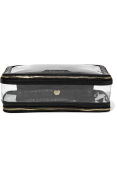 06127f785c Anya Hindmarch - Inflight leather-trimmed Perspex cosmetics case