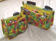 The Porta-Pockets Purse Insert has been our most popular pattern of ALL to date! It's the perfect way to organize your handbag and it makes it easy as pie to change bags! Now EVERY bag can be your favorite bag!  http://studiokatdesigns.com/products/portapockets