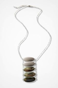 Stone Ladder Necklace - Coldwater Creek