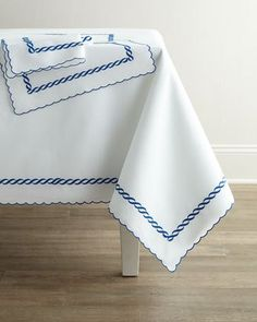 Madeira Chain Napkins, Set Of 4 Madeira Chain Placemats, Set Of 4 Madeira  Chain Tablecloth,