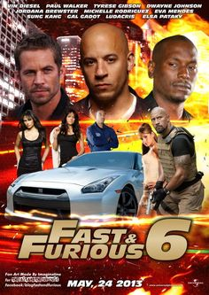 """Fast and Furious 6 Me: """"It's the 6th one!"""" Him: """"Even you knew it was the 6th one!"""" Me: """"Well the last one was called 'Fast 5'"""" {Who's the shortbus now??}"""