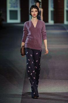 Louis Vuitton fall 2013. Boudoir dressing is back