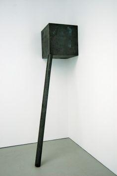 Corner Prop, Richard Serra, 1969.