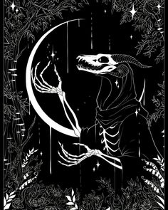 Sator: Photo - Shounen And Trend Manga Arte Horror, Horror Art, The Ancient Magus Bride, Dark Drawings, Mythical Creatures Art, Arte Obscura, Art Anime, Creepy Art, Monster Art